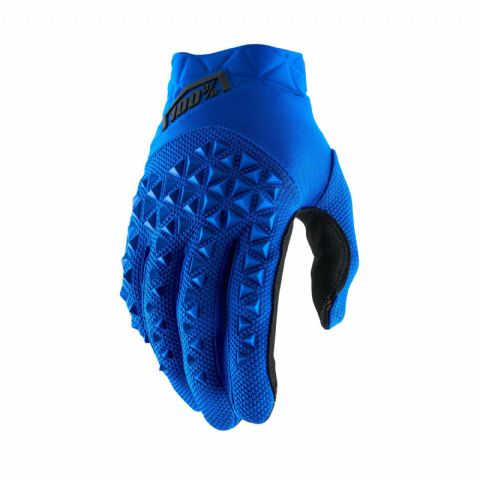AIRMATIC 100% Glove Blue/Black